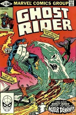 Ghost Rider (1st Series) #59 1981 VF Stock Image