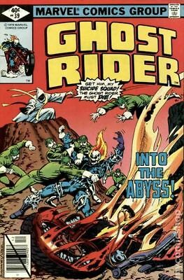 Ghost Rider (1st Series) #39 1979 VF Stock Image
