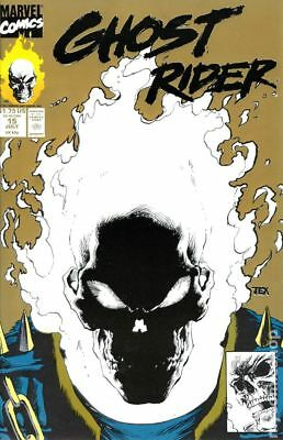 Ghost Rider (2nd Series) Gold Reprint #15 1991 FN Stock Image
