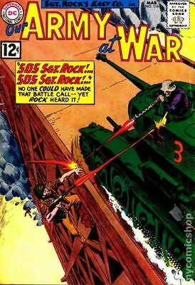 Our Army at War #116 1962 GD/VG 3.0