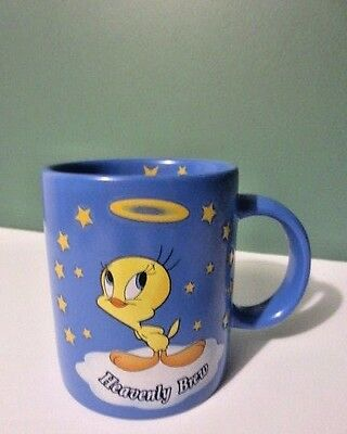 "Awesome NEW 1999 ""Heavenly Brew"" TWEETY BIRD Coffee Mug from WARNER BROS. Store"