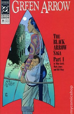 Green Arrow (1st Series) #35 1990 VF Stock Image