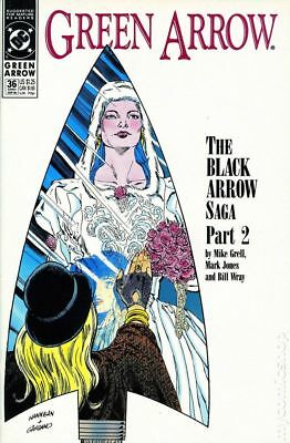 Green Arrow (1st Series) #36 1990 VF Stock Image