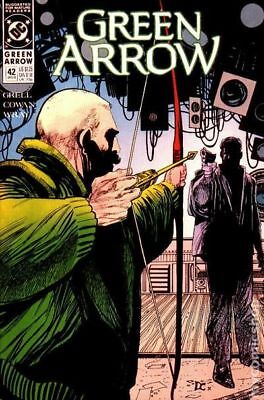 Green Arrow (1st Series) #42 1991 VF Stock Image