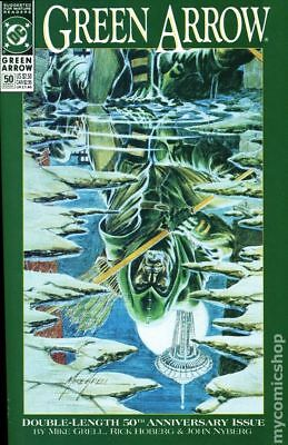 Green Arrow (1st Series) #50 1991 VF Stock Image