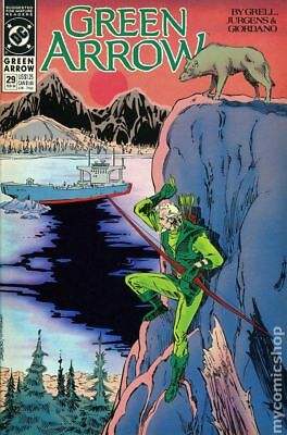 Green Arrow (1st Series) #29 1990 VF Stock Image
