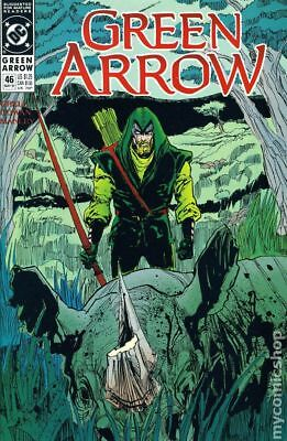 Green Arrow (1st Series) #46 1991 VF Stock Image