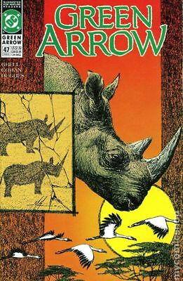 Green Arrow (1st Series) #47 1991 VF Stock Image