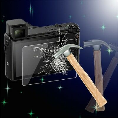 Tempered Glass Screen Protector Cover for Sony RX-100/RX-100-2/RX-100-3/A99 CU