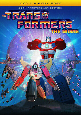 Transformers: The Movie (30th Anniversary Edition) (2016, DVD NEW)