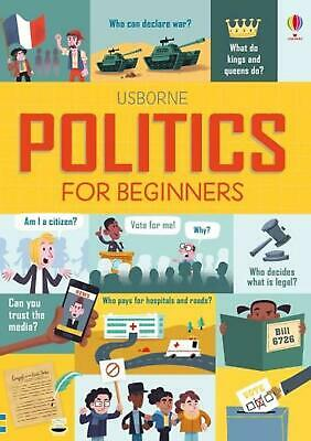 Politics for Beginners by Alex Frith Hardcover Book Free Shipping!