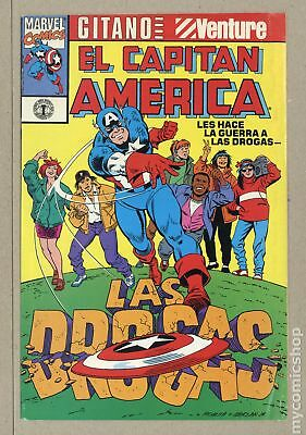 Captain America Goes to War Against Drugs (Giveaway) 1991C VG/FN 5.0