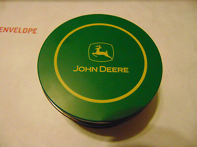 Pre Owned Metal John Deere Coasters - Cork bases