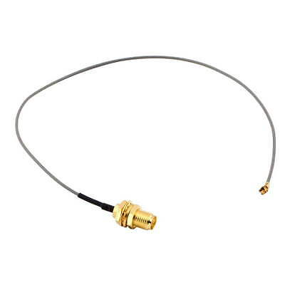 U.FL IPX 1.13 to RP-SMA female RF Pigtail Cable Jumper for PCI Wifi Card OK