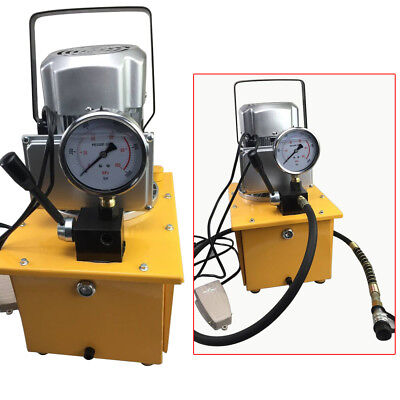 Electric Driven Hydraulic Pump 10000Psi High 70Mpa Single Acting Free Shipping