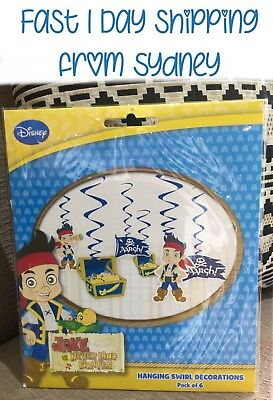 jake and the neverland pirates Swirls Birthday Party Favours Decorations Parties