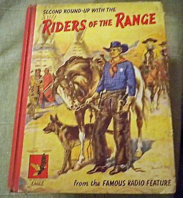 RIDERS OF THE RANGE ANNUAL #2 (1958) Very Good + Condition Lovely Interiors