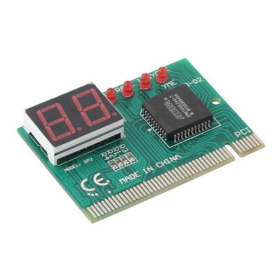 PCI PC Diagnostic 2-Digit Card Motherboard Post Tester Analyzer Checker Laptop O