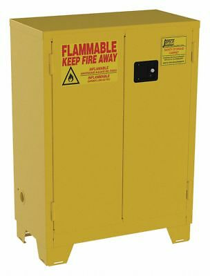 JAMCO FS28 Flammable Safety Cabinet 28 Gal. Yellow