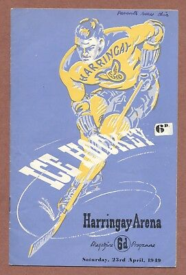 Harringay Arena London 1949, Racers v Streatham Johnny Gauthier Pictures   JX183