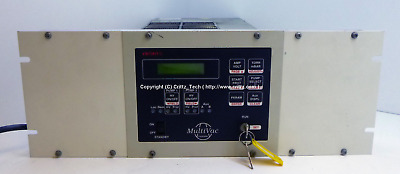 Varian MultiVac Pump Controller with face plate and keys - 652u6