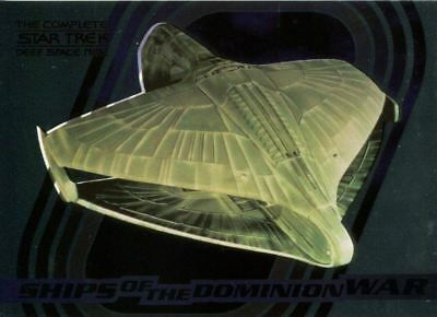 Complete Star Trek Deep Space Nine Ships Of Dominion Chase Card S8
