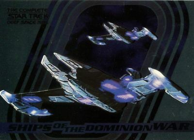 Complete Star Trek Deep Space Nine Ships Of Dominion Chase Card S5