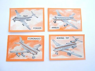Vecchio,lot Bpz Kinder/ancien Montable Set Orange Passagierflugzeuge Corplast