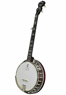 Banjo Deering Eagle II Kavanjo Pick Up 5-String Banjo