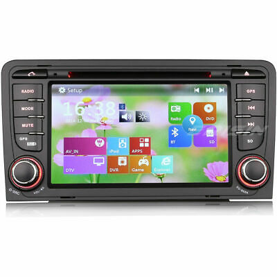 DAB+Stereo for Audi A3 S3 RS3 RNSE-PU DVD player BT gps headunit 3G  DVB-T/IN
