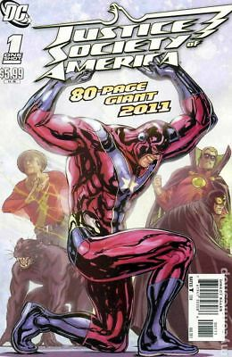 JSA 80-Page Giant #1 2011 NM Stock Image