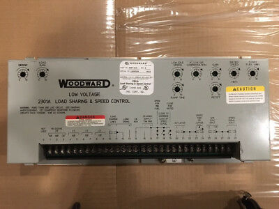 woodward 2301a load sharing and speed control pn 8271 442 rh picclick com Woodward Governors Manuals Woodward 723 Manual