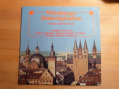 "12"" LP - Siegfried Koesler - Würzburger Domsingknaben - Private"