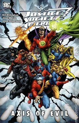 Justice Society of America Axis of Evil TPB #1-1ST 2010 NM