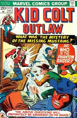 Kid Colt Outlaw Mark Jewelers #177MJ 1973 FN 6.0 Stock Image