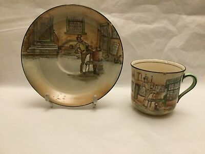 Royal Doulton Dickens Ware 'Sam Weller' Cup & Saucer No.D2973 c1920