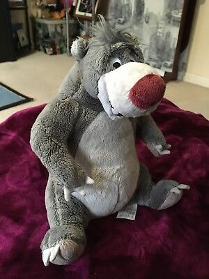 Disney Plush Talking Baloo The Bear From Jungle Book
