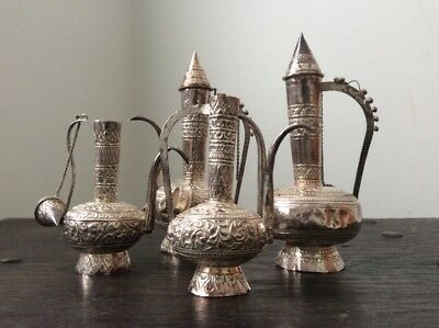 Middle Eastern Solid Silver Tea Set / Coffee Set/ Teapot