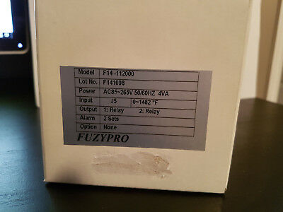 Fuzypro F14-112000 Temperature Controller *new In Factory Box*
