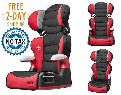 Safety Adjustable System Booster Car Seat Toddler Kids Child Chair High Back