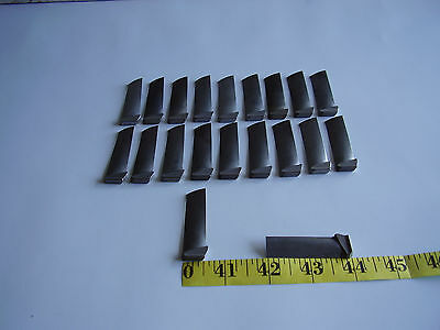 GEJ-85 CJ-610 20 NEW 4th STAGE TURBINE ENGINE COMPRESSOR BLADES FOR COLLECTORS