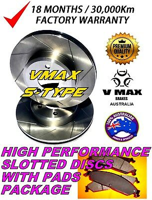 S fits NISSAN Patrol Y61 GU 2.8 3.0 4.2 4.5 1997 Onwards REAR Disc Rotors & PADS