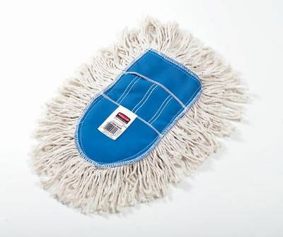 Rubbermaid Commercial Wedge Dust Mop Head for Tight Corners, Washable