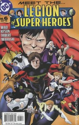 Legion of Super-Heroes (5th Series) #6 2005 FN Stock Image