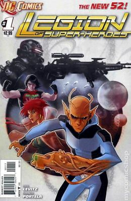 Legion of Super-Heroes (7th Series) 1A 2011 VF Stock Image