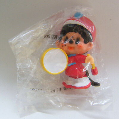 Vintage MONCHHICHI Marching Band DRUMMER PVC Figure Mint in Pack