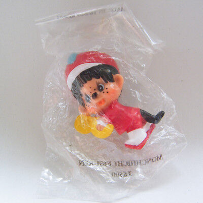 Vintage MONCHHICHI Marching Band CYMBALS Marcher PVC Figure Mint in Pack