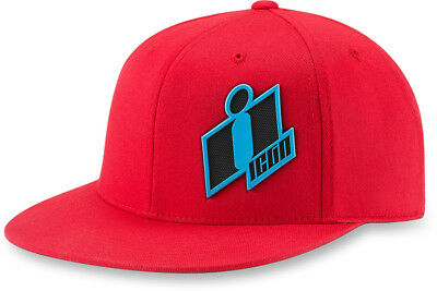 Icon Double Up Flex Fit Hat Red