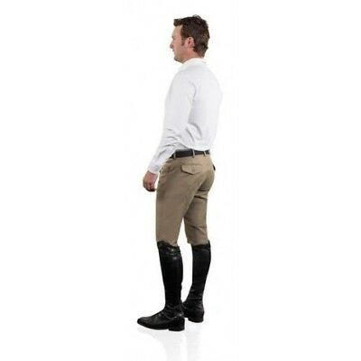 Ovation Mens 4-Pocket Euroweave-Dry-Tex Full Seat Riding Breeches