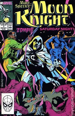 Marc Spector Moon Knight #7 1989 FN Stock Image